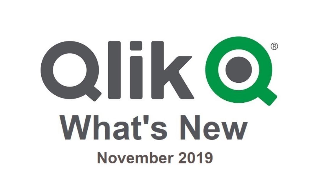 Novinky v Qlik Sense November 2019