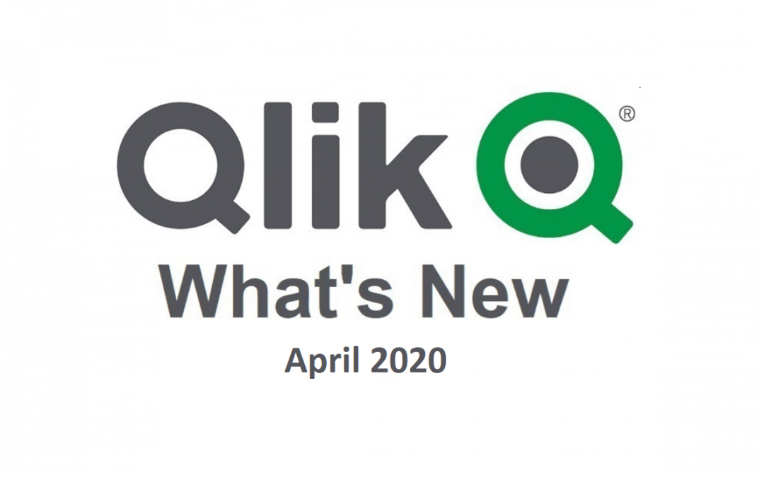 Novinky v Qlik Sense April 2020
