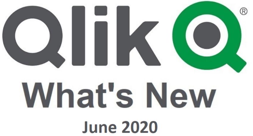 Novinky v Qlik Sense June 2020